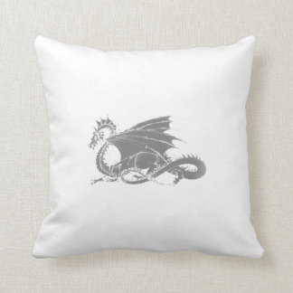 Dragon Art Throw Pillow