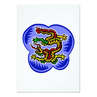 Dragón asiático de Serpant Anuncio Personalizado