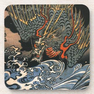 Dragon at Sea Coasters