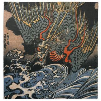 Dragon at Sea Napkin