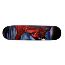 skateboarding, pro, skateboarder, rockstar, dragon, attack, fantasy, skateboard, dragons, medievil, chinese, castle, castles, fantasies, fire, art, flying, creatures, creature, digital realism, Skateboard with custom graphic design