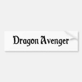 Dragon Avenger Bumper Sticker