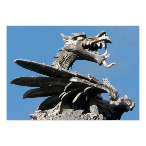 Dragón, ayuntamiento, Cardiff Tarjeta De Visita