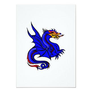 Dragón azul asiático comunicado personal