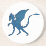 Dragón azul Coster por IDC Posavasos Manualidades