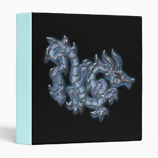 Dragón azul fresco