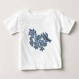 Dragón azul fresco tee shirt