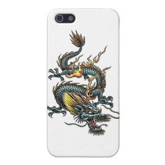 Dragón azul iPhone 5 funda