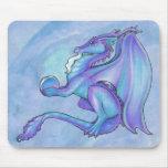 Dragón azul Mousepad Alfombrillas De Raton