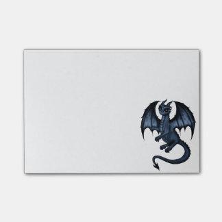 dragón azul post-it® notas