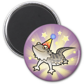 Dragón barbudo del cumpleaños dragón de Rankin Imán Para Frigorifico