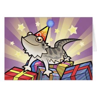 Dragón barbudo del cumpleaños/dragón de Rankin Tarjeta De Felicitación