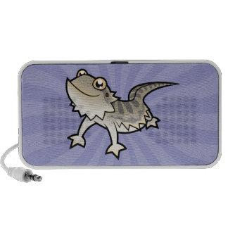 Dragón barbudo del dibujo animado dragón de Rankin Mini Altavoz