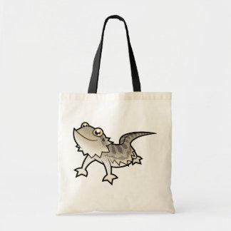 Dragón barbudo del dibujo animado/dragón de Rankin Bolsas