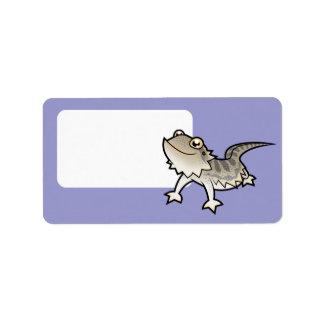 Dragón barbudo del dibujo animado/dragón de Rankin Etiquetas De Dirección
