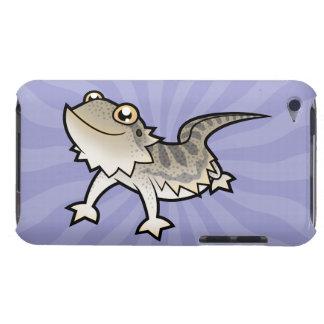Dragón barbudo del dibujo animado dragón de Rankin iPod Touch Cárcasas