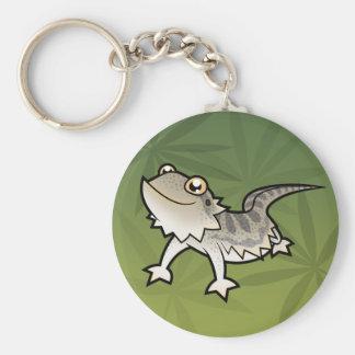 Dragón barbudo del dibujo animado/dragón de Rankin Llavero Redondo Tipo Pin