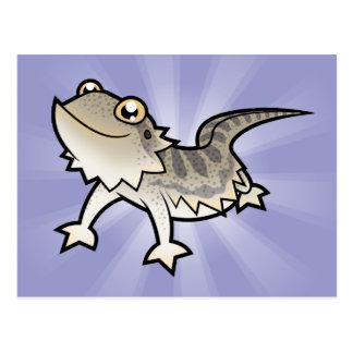 Dragón barbudo del dibujo animado/dragón de Rankin Postales