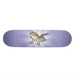 Dragón barbudo del dibujo animado/dragón de Rankin Tabla De Skate