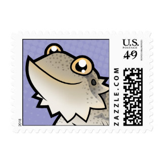 Dragón barbudo del dibujo animado/dragón de Rankin Timbres Postales
