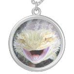 Dragón barbudo feliz estupendo grimpola personalizada