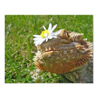 Dragón barbudo invitaciones personales