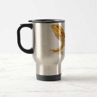 Dragón barbudo taza de café