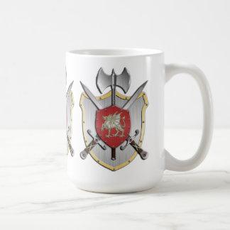 Dragon Battle Crest Coffee Mug