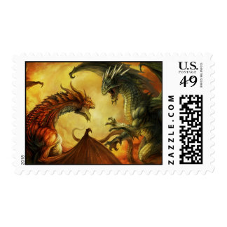 Dragon Battle Stamp