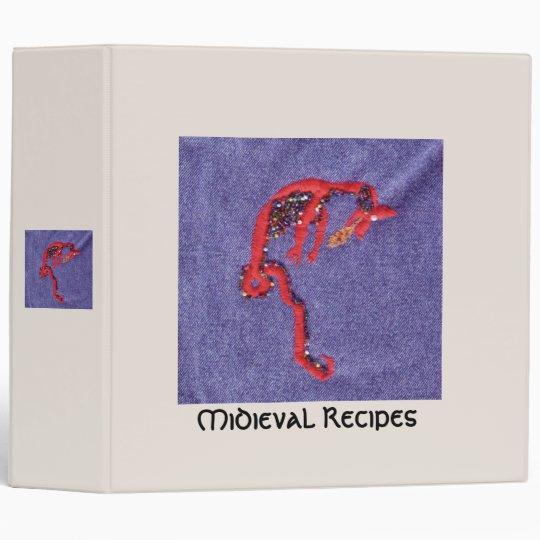 Dragon Beads Denim Cookbook Book of Shadows Binder
