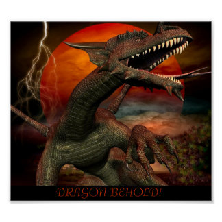 Dragon Behold! Poster