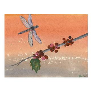 """Dragon Berries"" postcard"