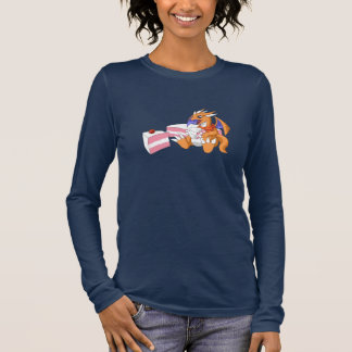 Dragon Birthday with Strawberry Cake Long Sleeve 2 Long Sleeve T-Shirt