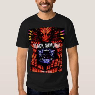 DRAGON-BLACK SAMURAI T SHIRT