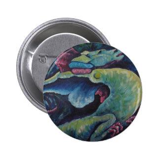 Dragon Bluegreen 2 Inch Round Button