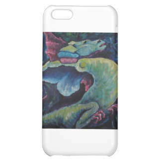 Dragon Bluegreen Case For iPhone 5C