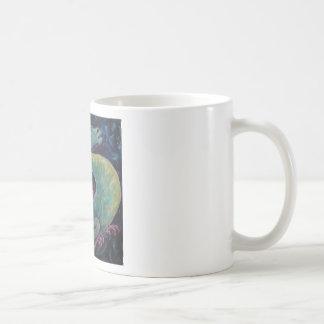 Dragon Bluegreen Coffee Mugs