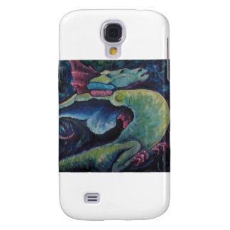 Dragon Bluegreen Galaxy S4 Cases