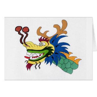 Dragon boat greeting card