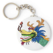 Dragon boat keychain