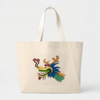 Dragon boat large tote bag