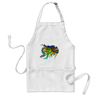 Dragon boat of the Emperor Adult Apron