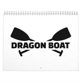 Dragon boat paddles calendar