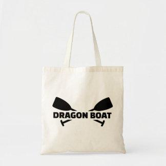 Dragon boat paddles tote bag