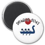 Dragon Boat Refrigerator Magnet