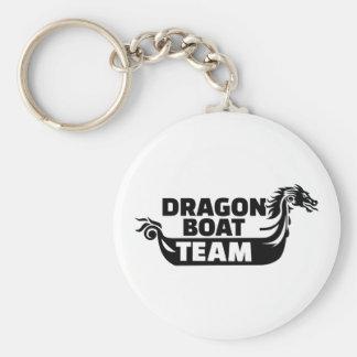 Dragon boat team keychain