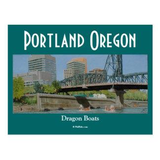 Dragon Boats postcard