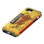 Dragon Brand Vintage Safety Match Label iPhone 5 Cover