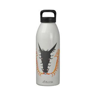 Dragon Breathing Fire Reusable Water Bottles