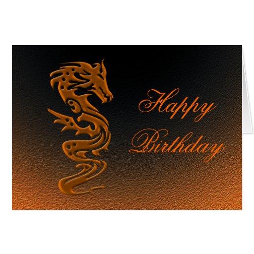 Dragon bronze cards